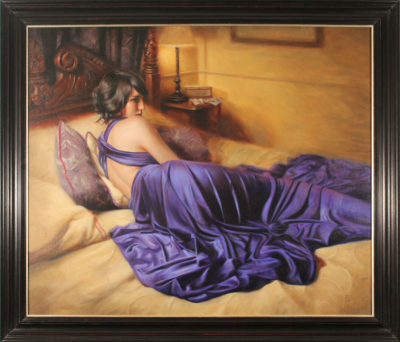 Tina Spratt, Original oil painting on canvas, The Promise Click to enlarge