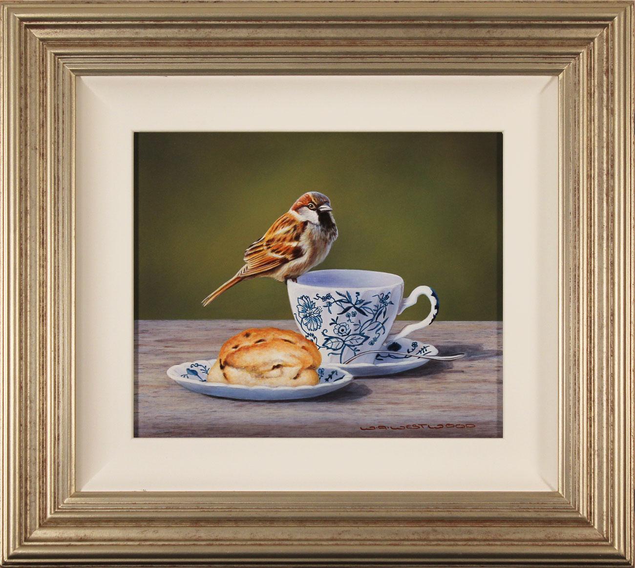 Wayne Westwood, Original oil painting on panel, Afternoon Tea Click to enlarge