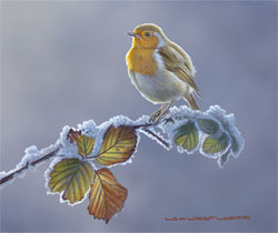 Wayne Westwood, Signed limited edition print, First Frost