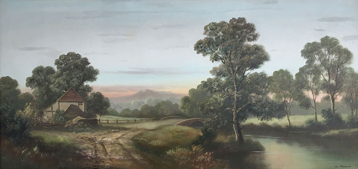 Wendy Reeves, Original oil painting on canvas, Landscape Click to enlarge