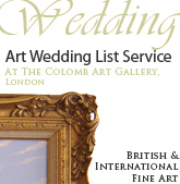 Wedding List Service at The Colomb Art Gallery, London