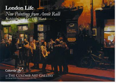 London Life, Annie Ralli Art Exhibition 2010